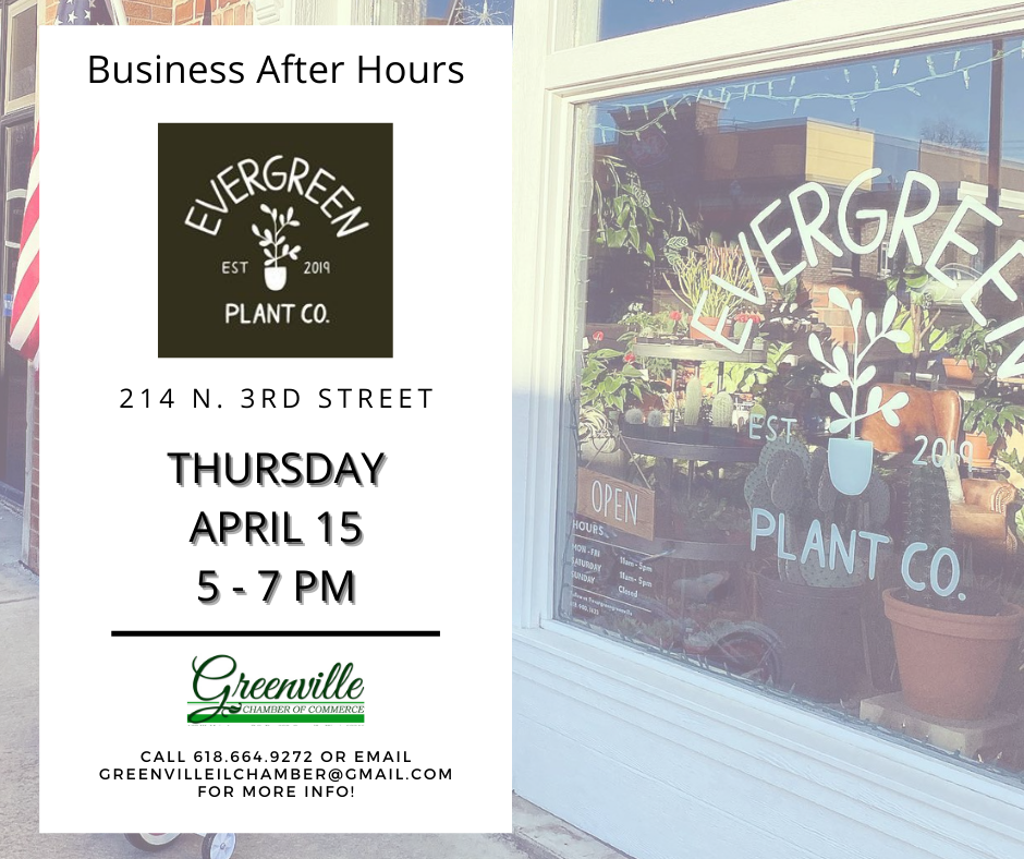 Business After Hours at Evergreen Plant Co