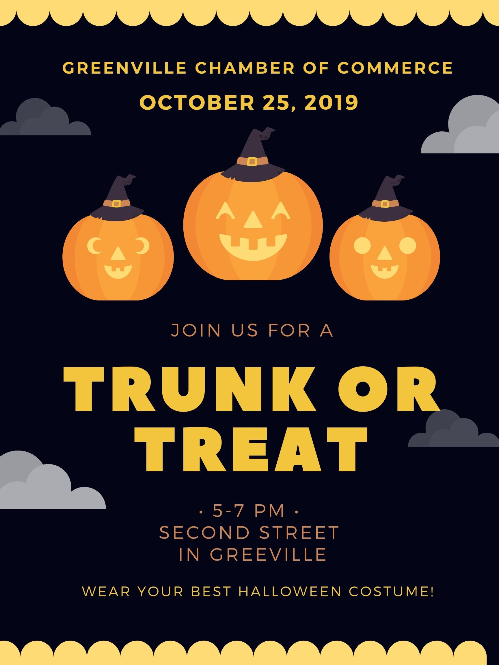 Greenville Trunk Or Treat 2019