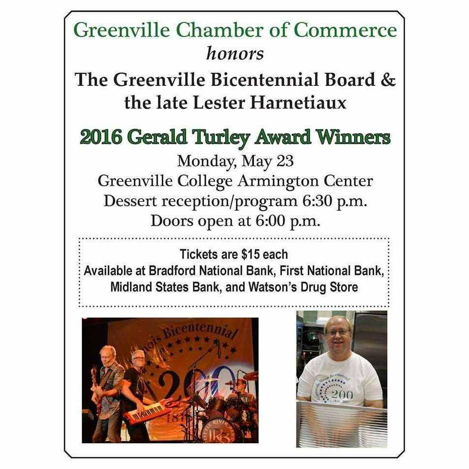 Gerald Turley Award Program - May 23, 2016