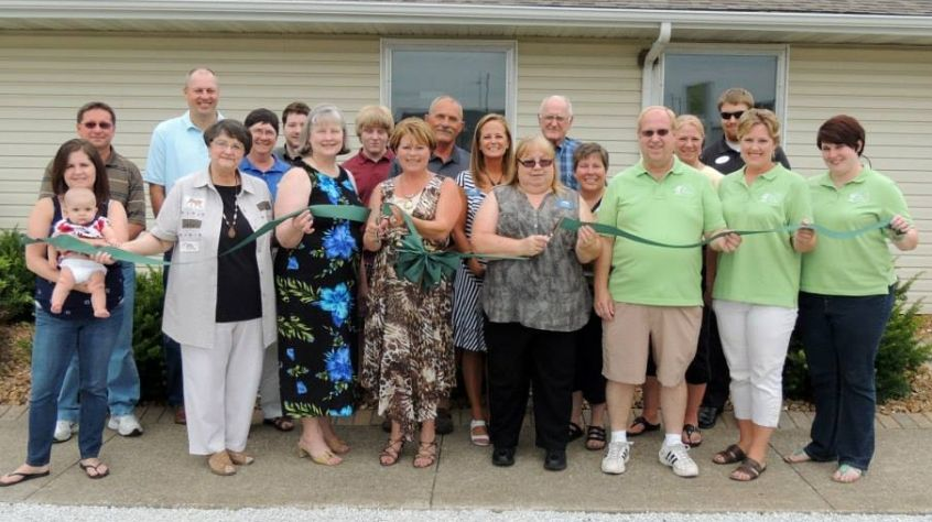 Ribbon Cutting at Bond County Title / Sunrise Care Givers