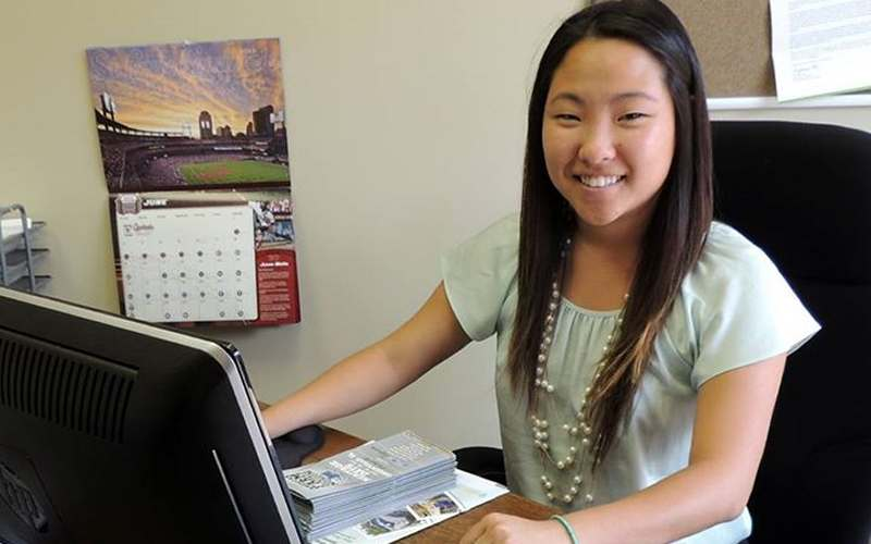 Carley Fletcher, Greenville Chamber of Commerce's 2013 Summer GC Intern
