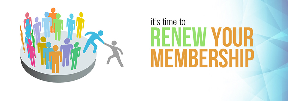 It's time to Renew your Membership!